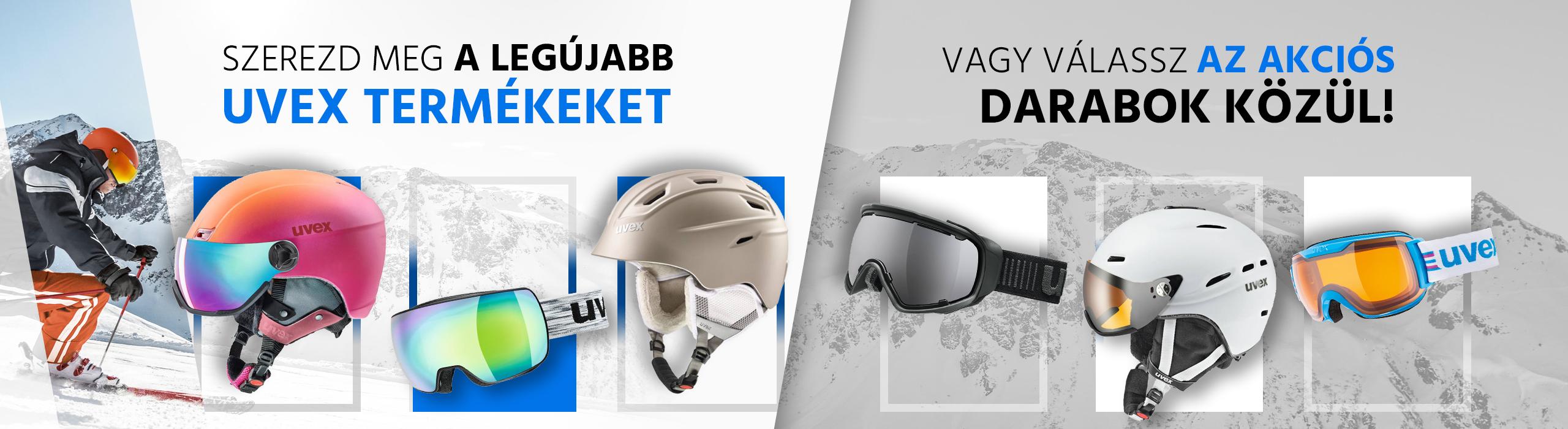 Uvex új termékek és akciók