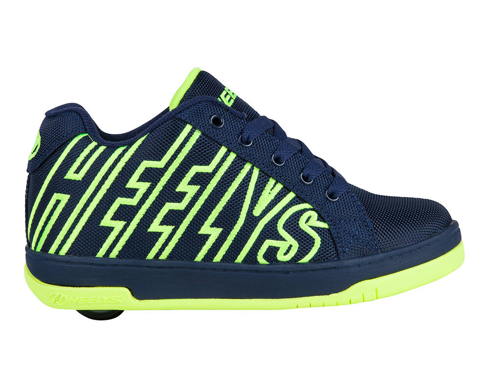 5ef237c7322b Heelys Split navy/bright/yellow - Gurulós cipők