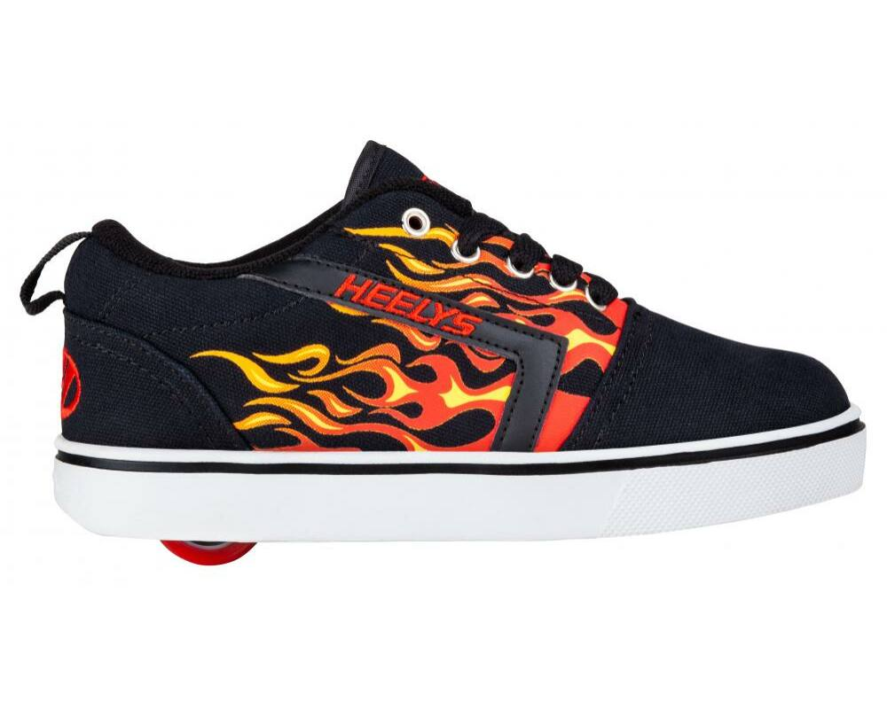 b69b01094c69 Heelys GR8 Pro Flames black/red flames - Gurulós cipők