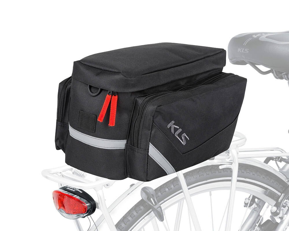 32a4341c7b6d Kelly's Space 12, black csomagtartó táska - Csomagtartó táska