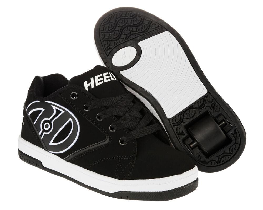Heelys Propel 2.0 black white - Gurulós cipők 67872fd09f