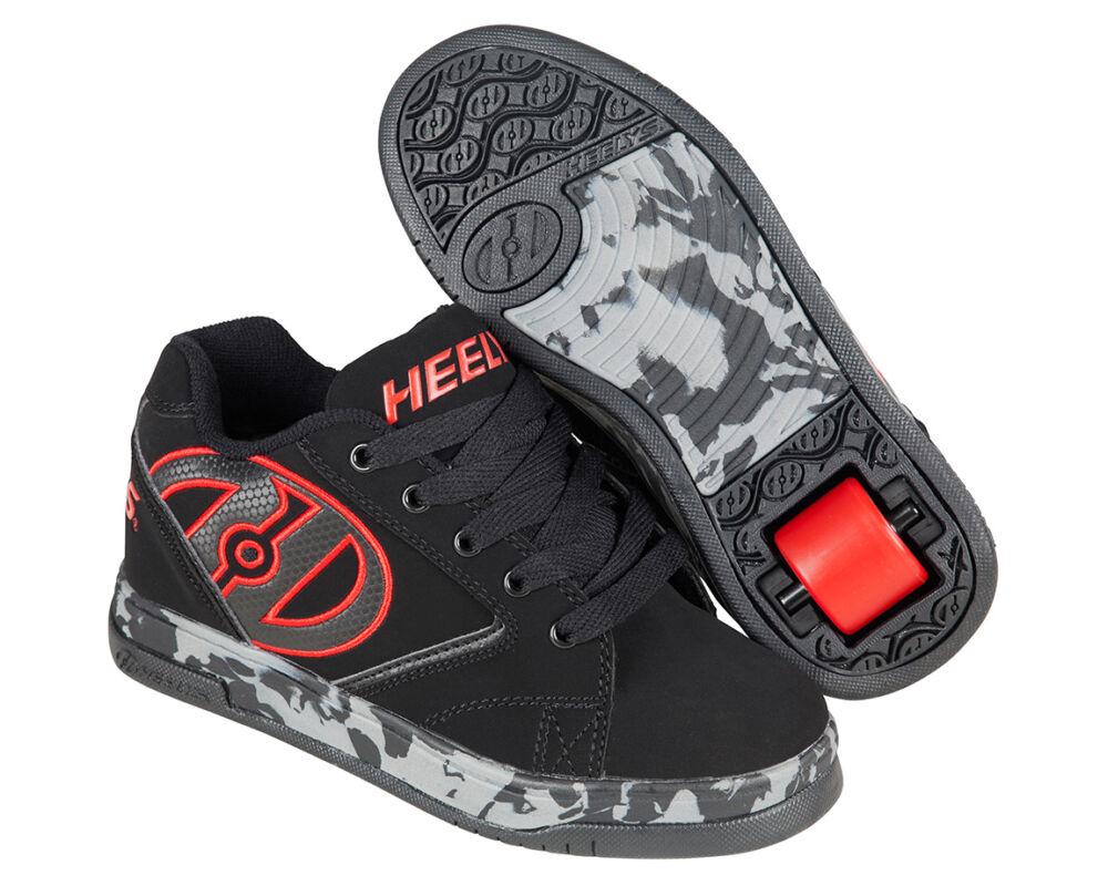 Heelys Propel 2.0 black red confetti - Gurulós cipők 2a04a00e07