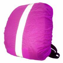 Wowow Bag Cover XL, pink láthatósági táskahuzat