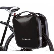 Crosso Dry big, fekete csomagtartó táska