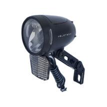 Velotech SMD 3 LED 90 Lux dinamós első lámpa