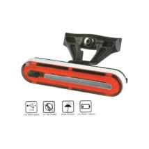 Velotech 50 chipLED USB hátsó lámpa