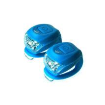 Velotech 2 led kék villogó szett