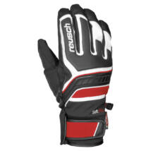 Reusch Thunder R-TEX XT, black/white/fire red síkesztyű
