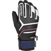 Reusch Thunder II R-TEX XT gloves, white/dress blue/orange popsicle