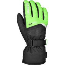 Reusch Bullet GTX gloves, neon green/black
