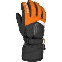 Reusch Bullet GTX Junior gloves, orange popsicle/black