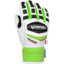 Reusch Race R-TEX XT Junior gloves, white/neon green