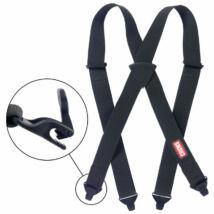 Chums Ski Suspenders, black nadrágtartó kantár