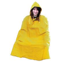 Esővédő poncho, sárga