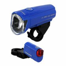 Trelock LS 350 + LS 710 kék lámpa szett