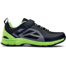 Northwave Escape evo, fekete/zöld kerékpáros cipő