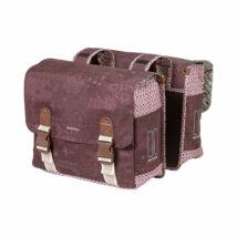 Basil Boheme double bag, piros csomagtartó táska