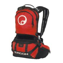 Ergon BE2 Enduro black/red small + BH150 ivózsák