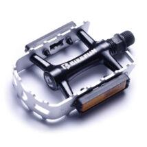 Bikefun MTB Mountainer-II alu, ezüst-fekete pedál