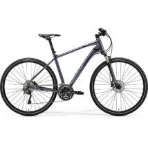 Merida Crossway 500, fényes antracit(fekete/ezüst) 2020