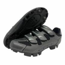 Exustar E-SM354A, szürke kerékpáros cipő