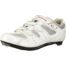 Exustar E-SR442, fehér kerékpáros cipő