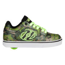 Heelys Motion Plus green camo/bright yellow