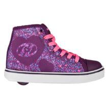 Heelys Veloz purple/pink/heart