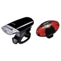 Infini I-112W black + I-405R lámpa szett