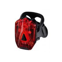 Infini Lava 3 LED USB fekete hátsó lámpa
