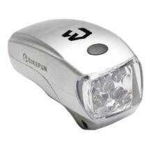 Bikefun Lucid 5 LED-es ezüst első lámpa