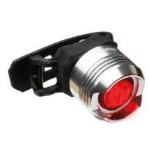 Bikefun Knob 1 LED ezüst hátsó lámpa
