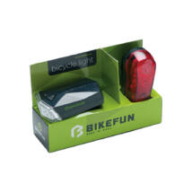 Bikefun Square set 4+3 LED-es lámpa szett