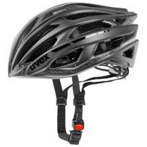 Uvex Race 5, black mat/shiny kerékpár sisak
