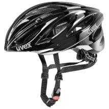 Uvex Boss race, black kerékpár sisak