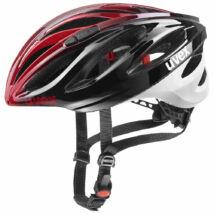 Uvex Boss race, black red kerékpár sisak