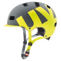 Uvex Hlmt 5 bike pro, grey-lime mat kerékpár sisak