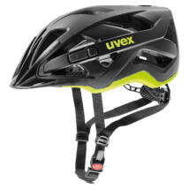 Uvex Active cc, black-yellow mat