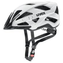 Uvex Active cc, white-black mat kerékpár sisak
