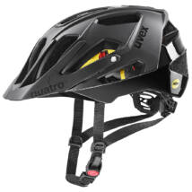 Uvex Quatro CC MIPS, all black kerékpár sisak
