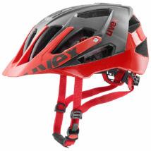 Uvex Quatro, grey red kerékpár sisak