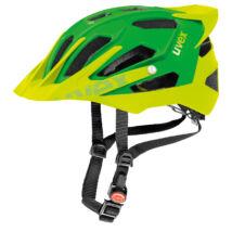 Uvex Quatro pro, green-lemon mat