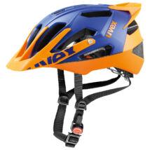 Uvex Quatro pro, blue-orange mat