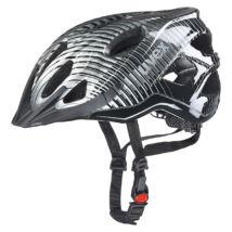 Uvex Adige, black-dark silver