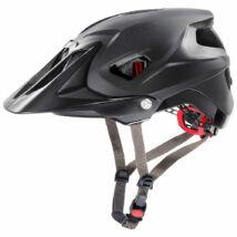 Uvex Quatro integrale, black mat kerékpár sisak
