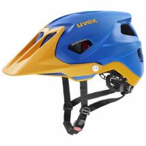 Uvex Quatro integrale, blue energy mat kerékpár sisak