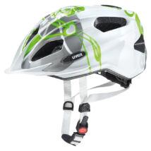 Uvex Quatro junior, green-silver