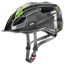 Uvex Quatro junior, anthracite-green kerékpár sisak