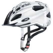 Uvex Quatro junior, white-grey kerékpár sisak