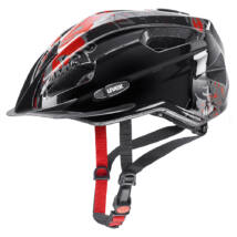 Uvex Quatro junior, black-red